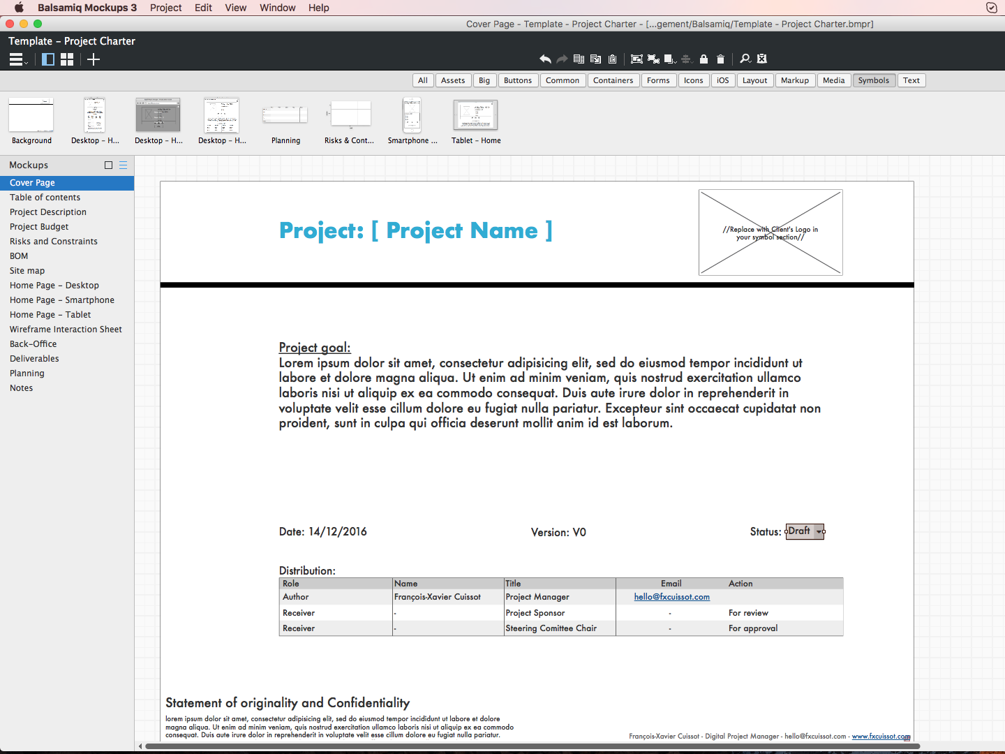 project charter A well-thought-out project charter should speed up the approval process and save a great deal of follow-up work answering basic questions for more information on project management, visit the project management institute website (pmiorg.