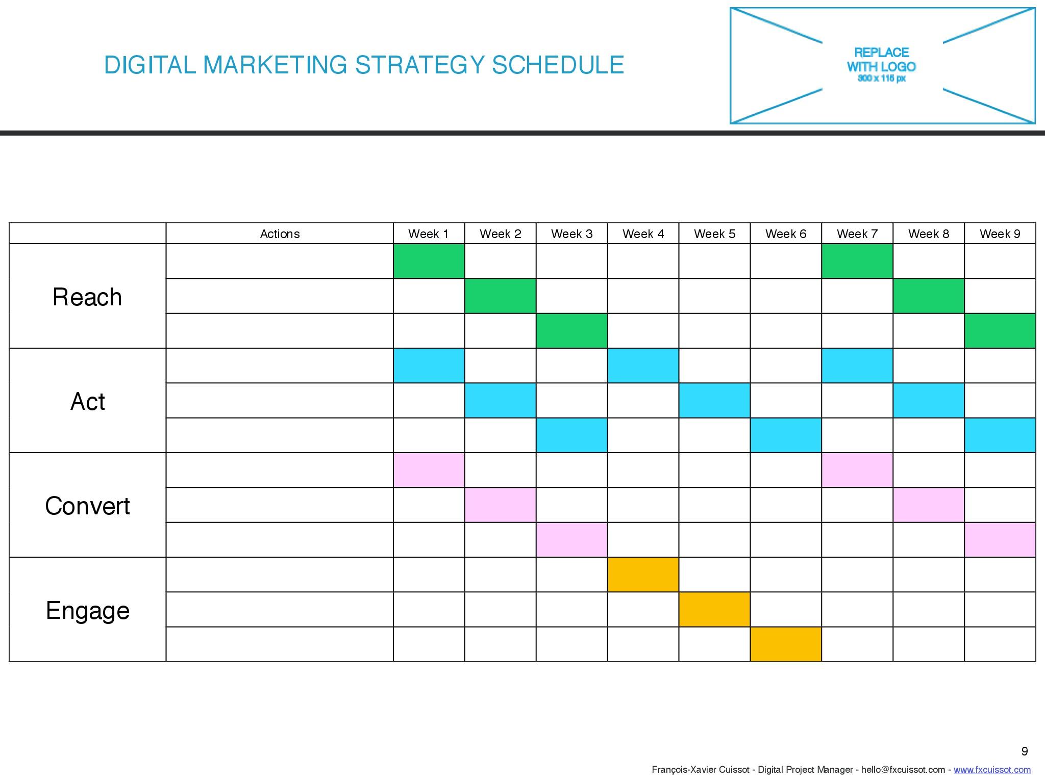 Race Framework Template With Indesign Digital Marketing