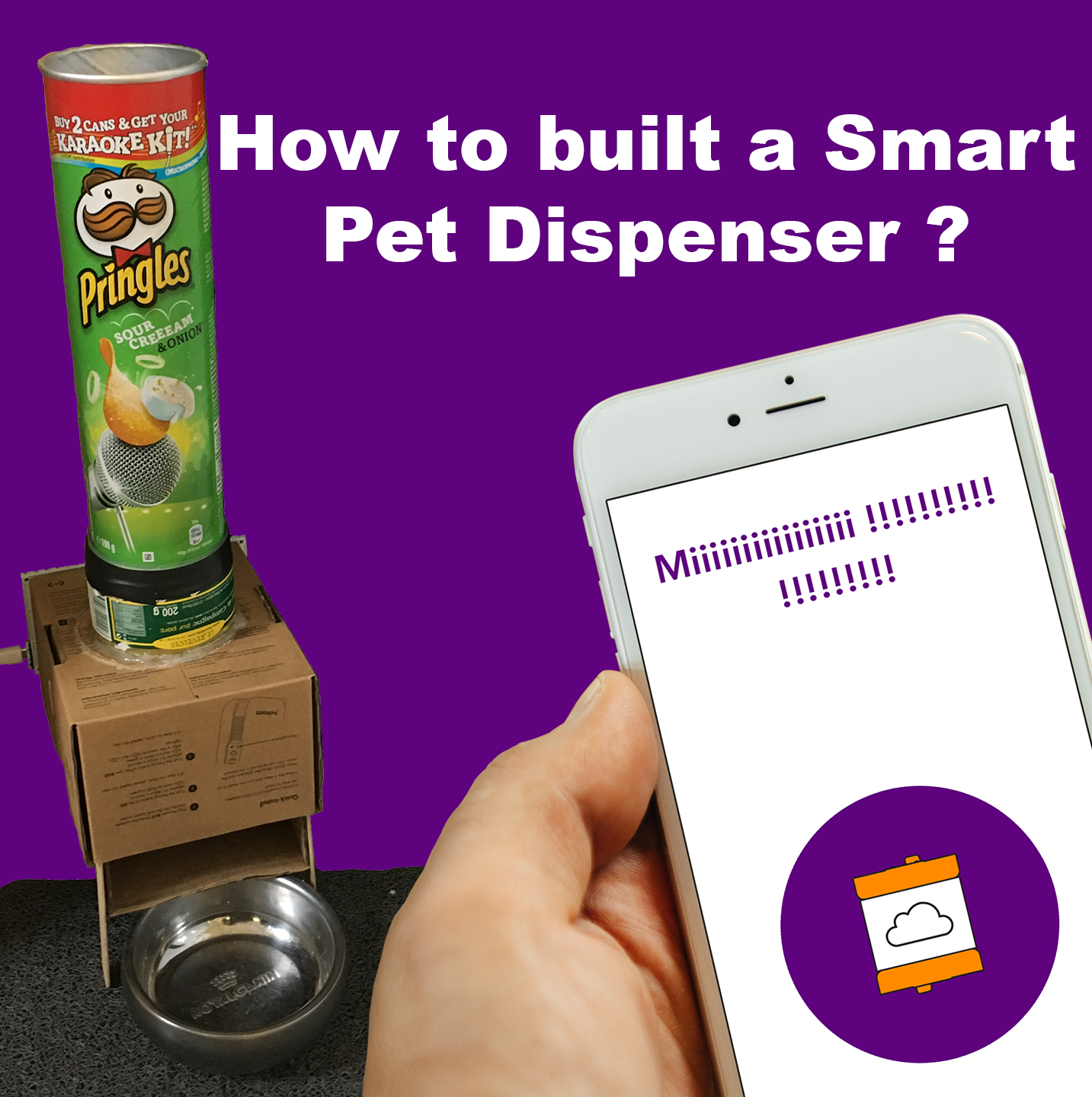DIY-How to built a smart pet dispenser